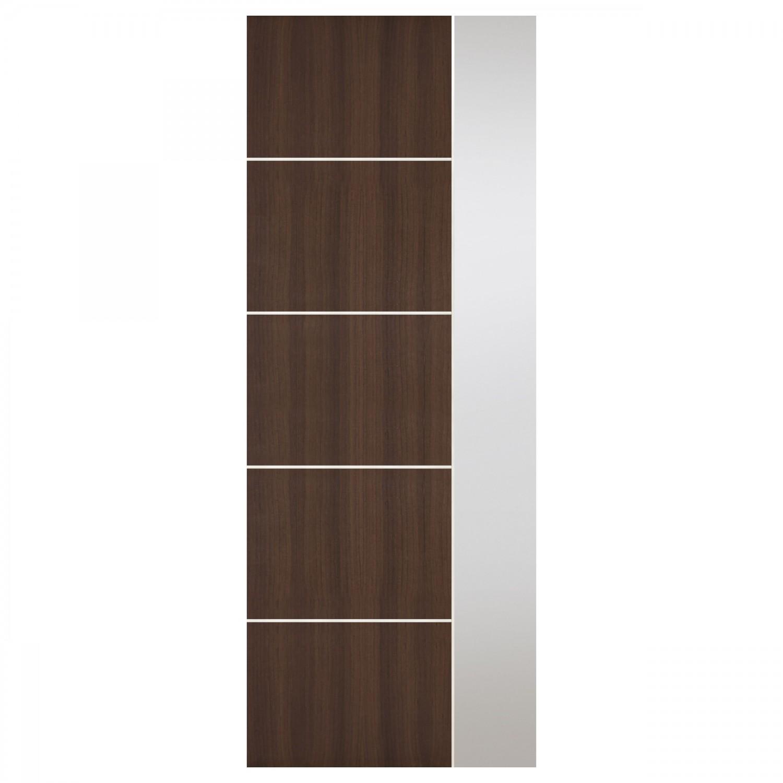 Modern Brown Interior Door Ee 14
