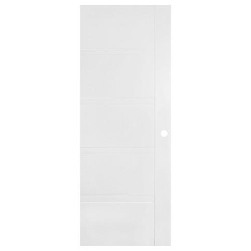 Transitional White Interior Door EE-901