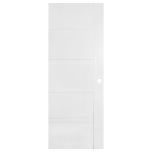 Transitional White Interior Door EE-901