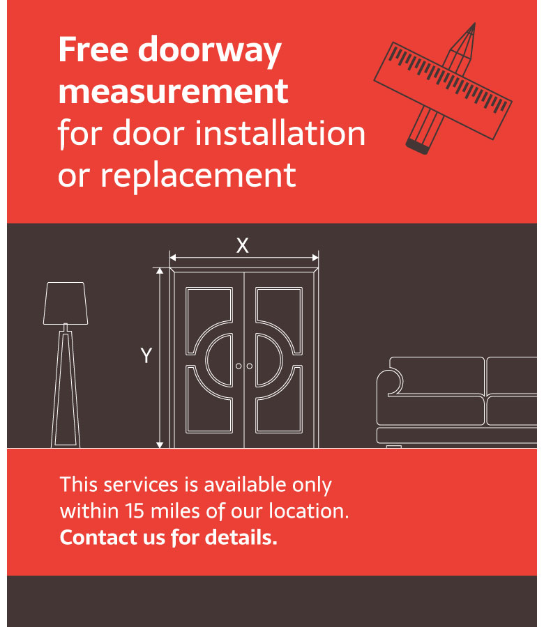 Free Door Measurement