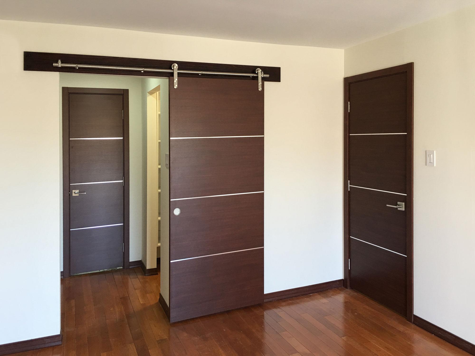 Installed Interior Doors